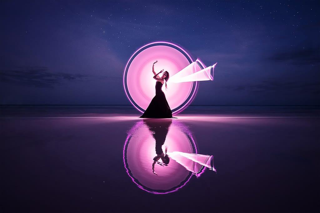 Tubos de Luz para Fotografía Nocturna
