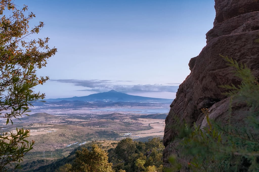 La_Malinche_desde_Parque_Natural_El_Rey-Fotográfo-Ignacio Arcas-